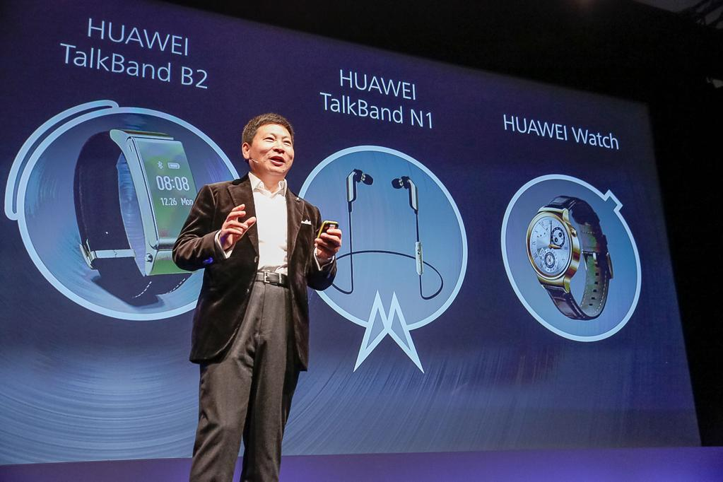Huawei launched the smartwatch at Mobile World Congress