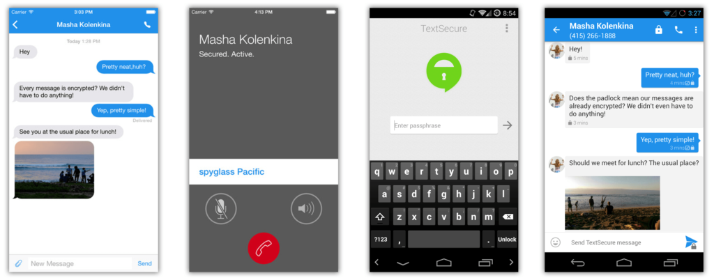 Signal, Text Secure App
